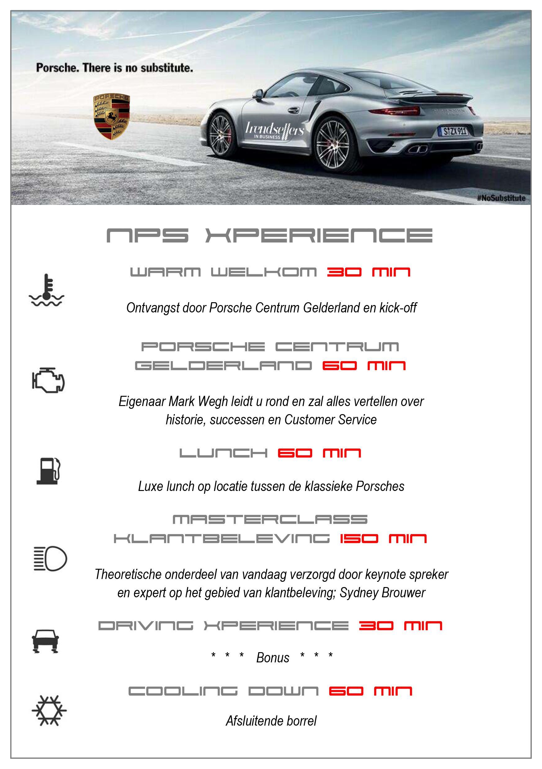 Programma klantbeleving bij Porsche